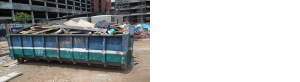commercial skip hire service